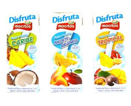 frutas y leche 200