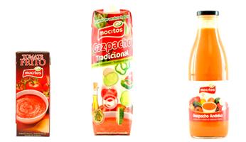 tomate frito y gazpacho
