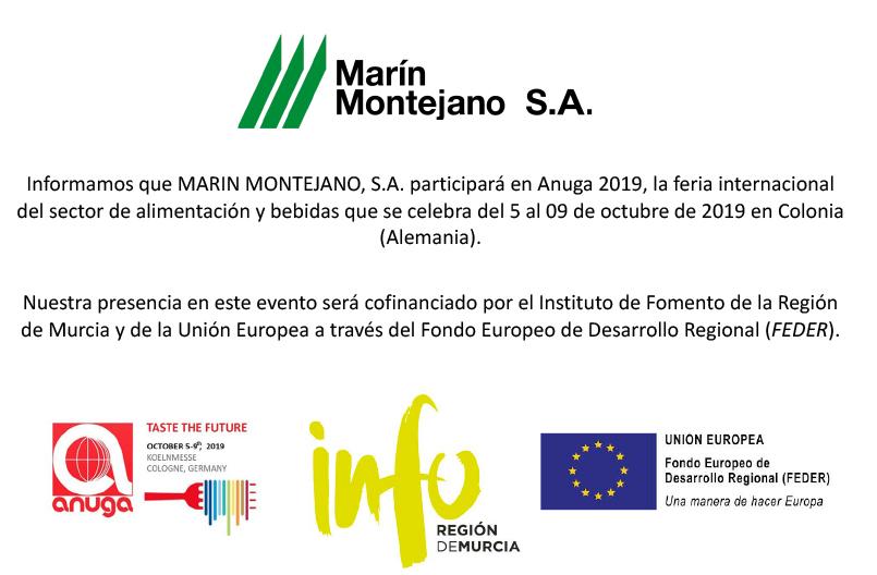 2019 ANUGA – MARIN MONTEJANO- INFO – FEDER